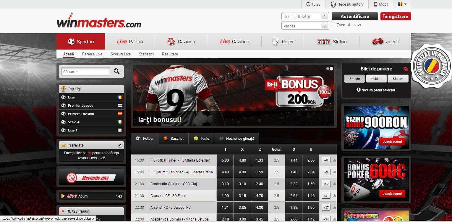 Winmasters online