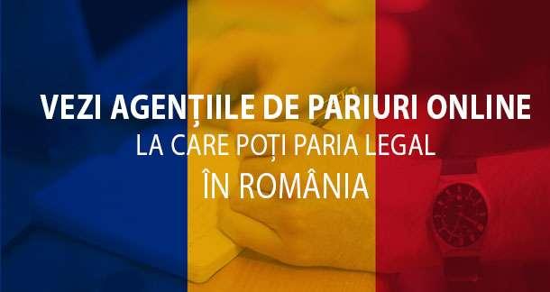 Pariuri online legale Romania