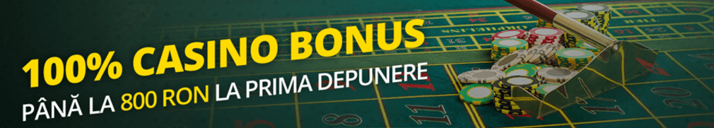 Bonus bun venit eFortuna Cazino