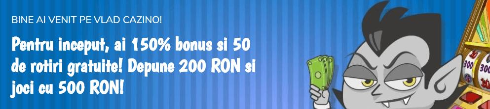 Bonus Vlad Cazino