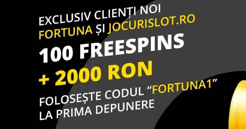 Cum sa primesti Forrtuna Cazino bonus