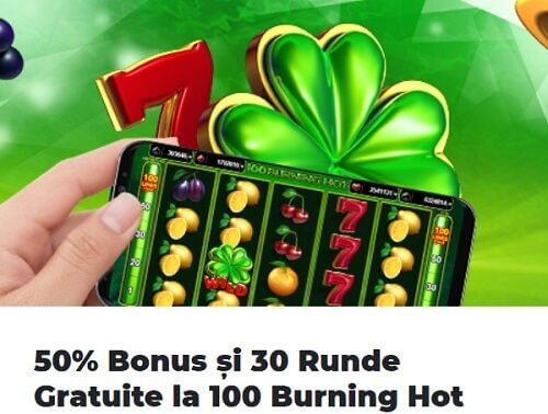 Platinum Casino Bonus 50% Burning Hot